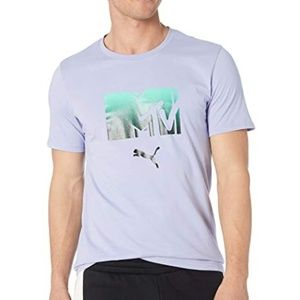 PUMA Men's X MTV Tee Shirt 579813 Sweet Lavender